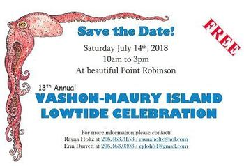 Low Tide Celebration on Vashon Island