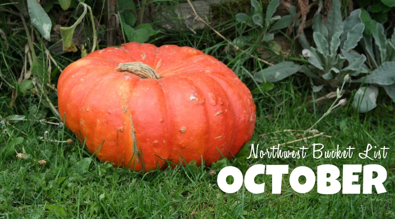 Northwest Bucket List: October