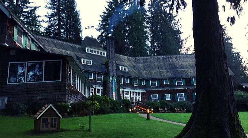 Thanksgiving at Lake Quinault Lodge